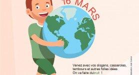 16 mars Marche mondiale pour le climat